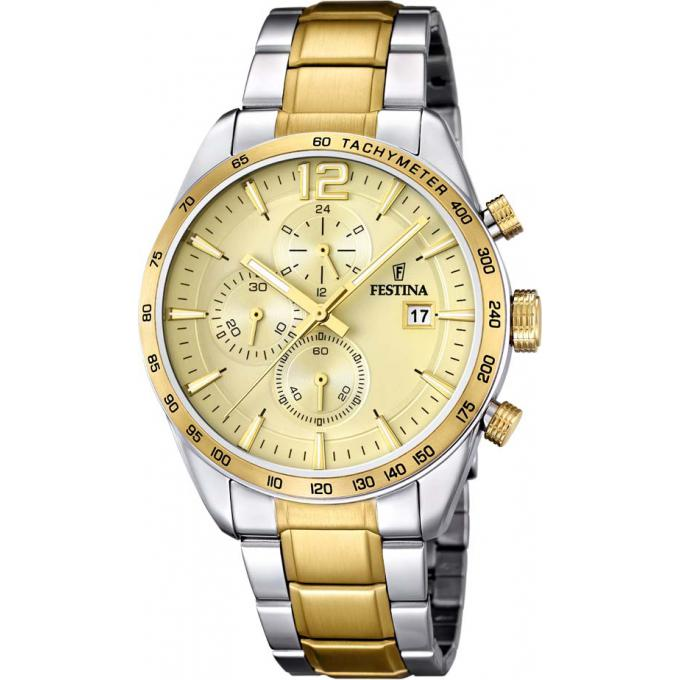 montre doree homme