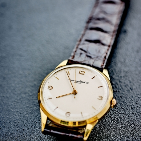 montre homme or 18 carats