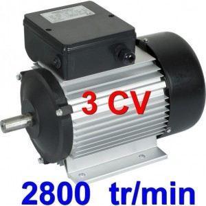 moteur 3cv 220v