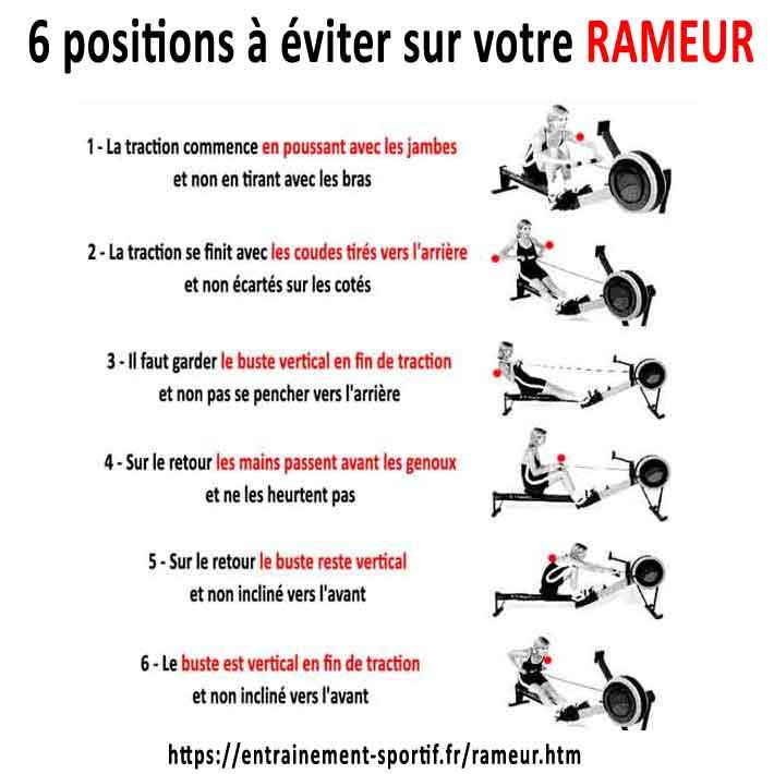 musculation rameur