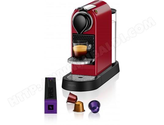 nespresso rouge pas cher