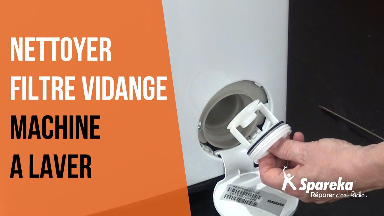 nettoyer filtre machine à laver
