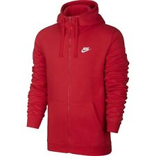 nike veste rouge