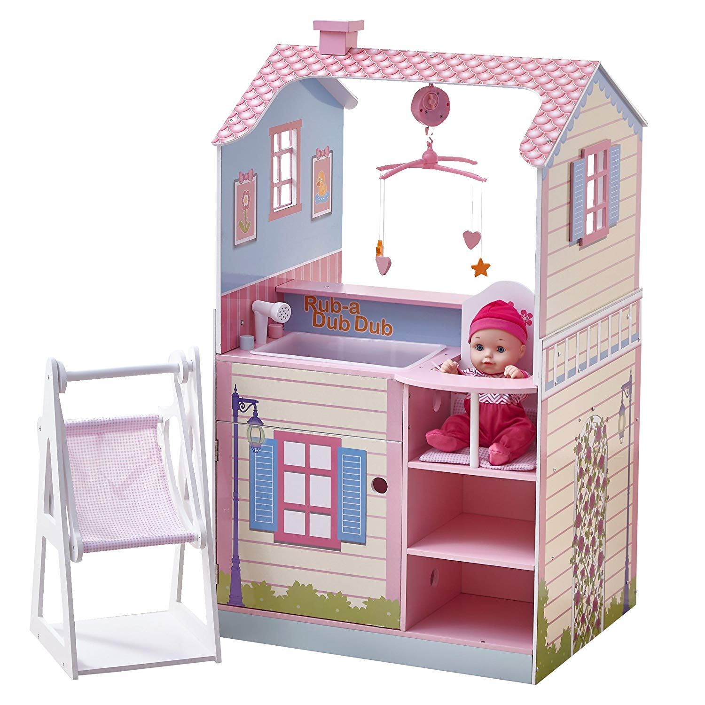 nursery en bois jouet