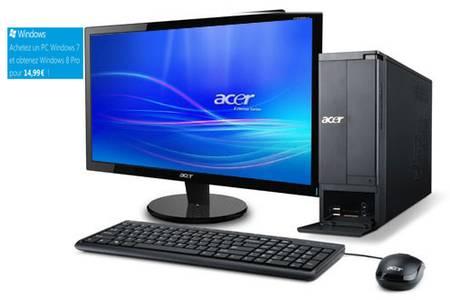 ordinateur fixe acer