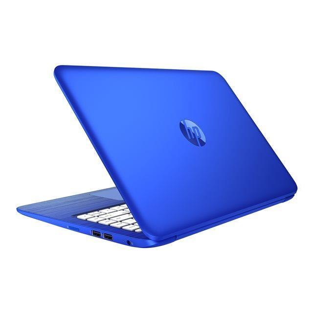 ordinateur portable bleu
