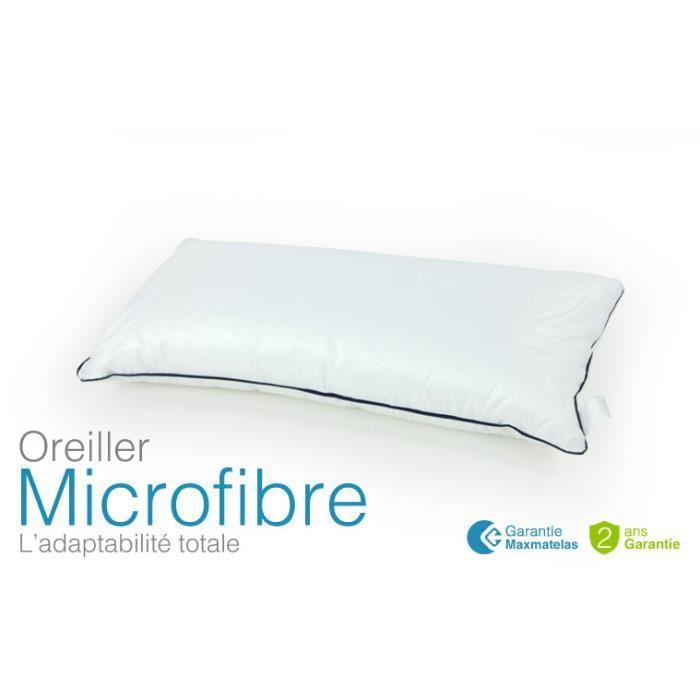 oreiller microfibre