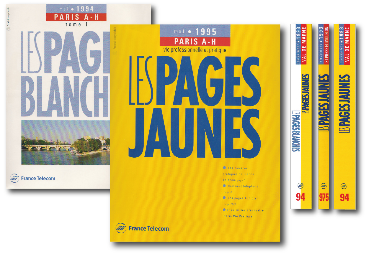 pages blanches 94