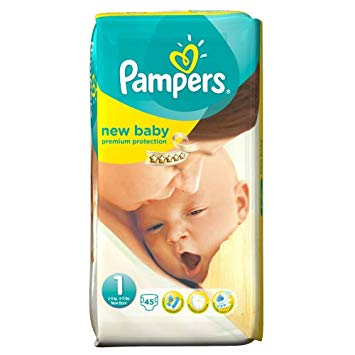 pampers new baby taille 1