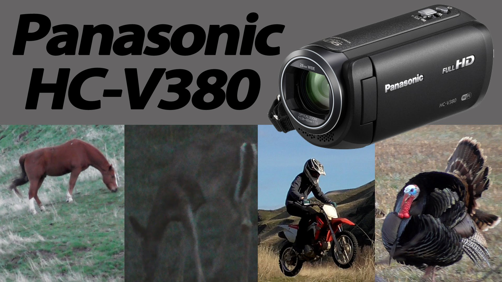 panasonic hc-v380 test