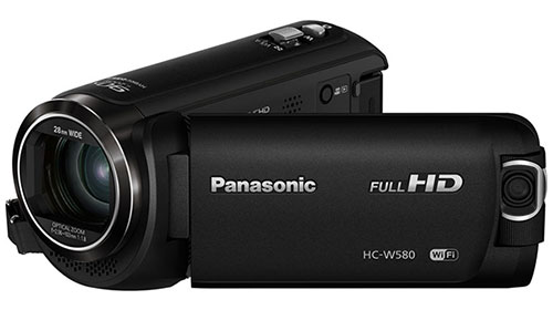 panasonic hc-w580 test