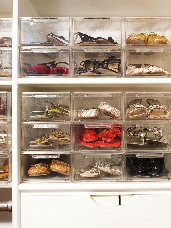 panier rangement chaussures