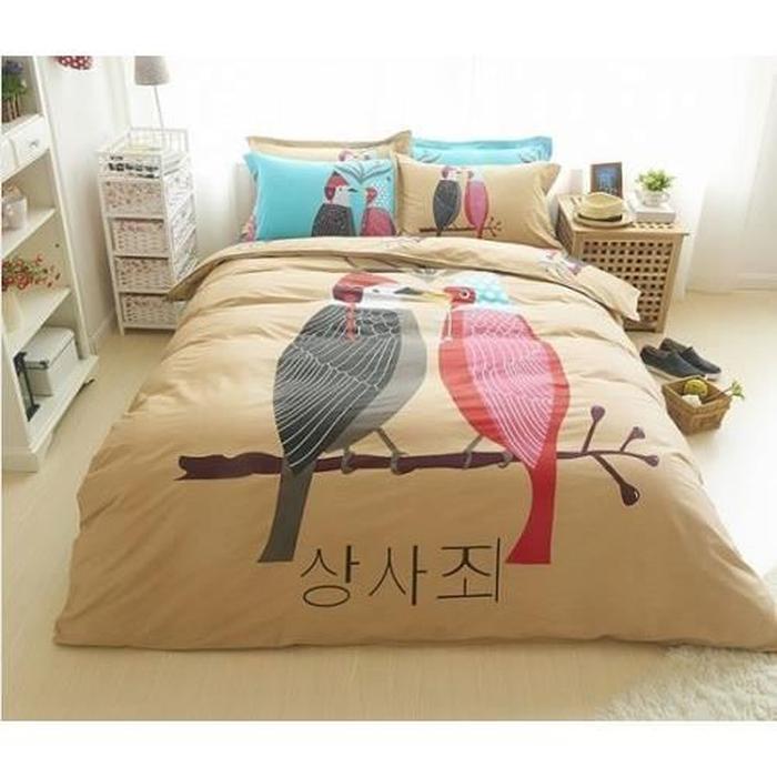 parure de lit motif egyptien