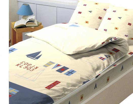 parure de lit zippée