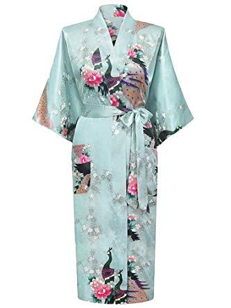 peignoir kimono long femme