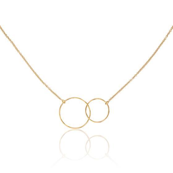 pendentif cercle or