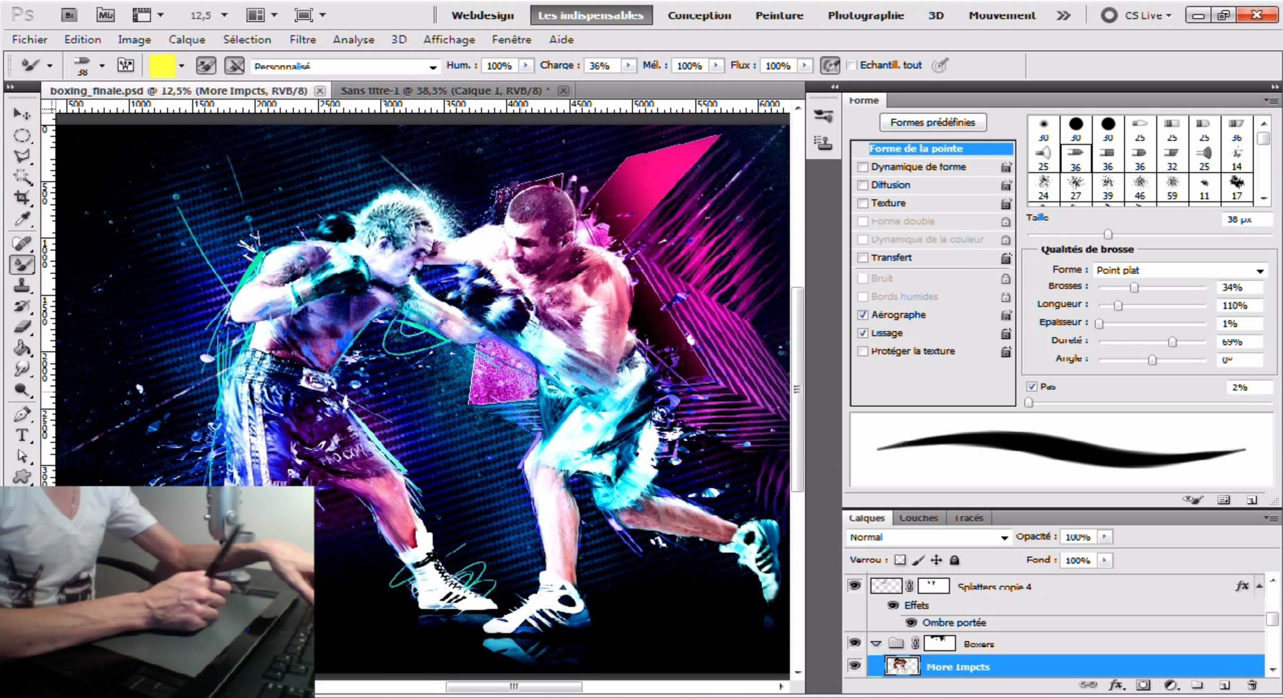 photoshop tablette graphique