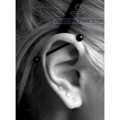 piercing cartilage barre
