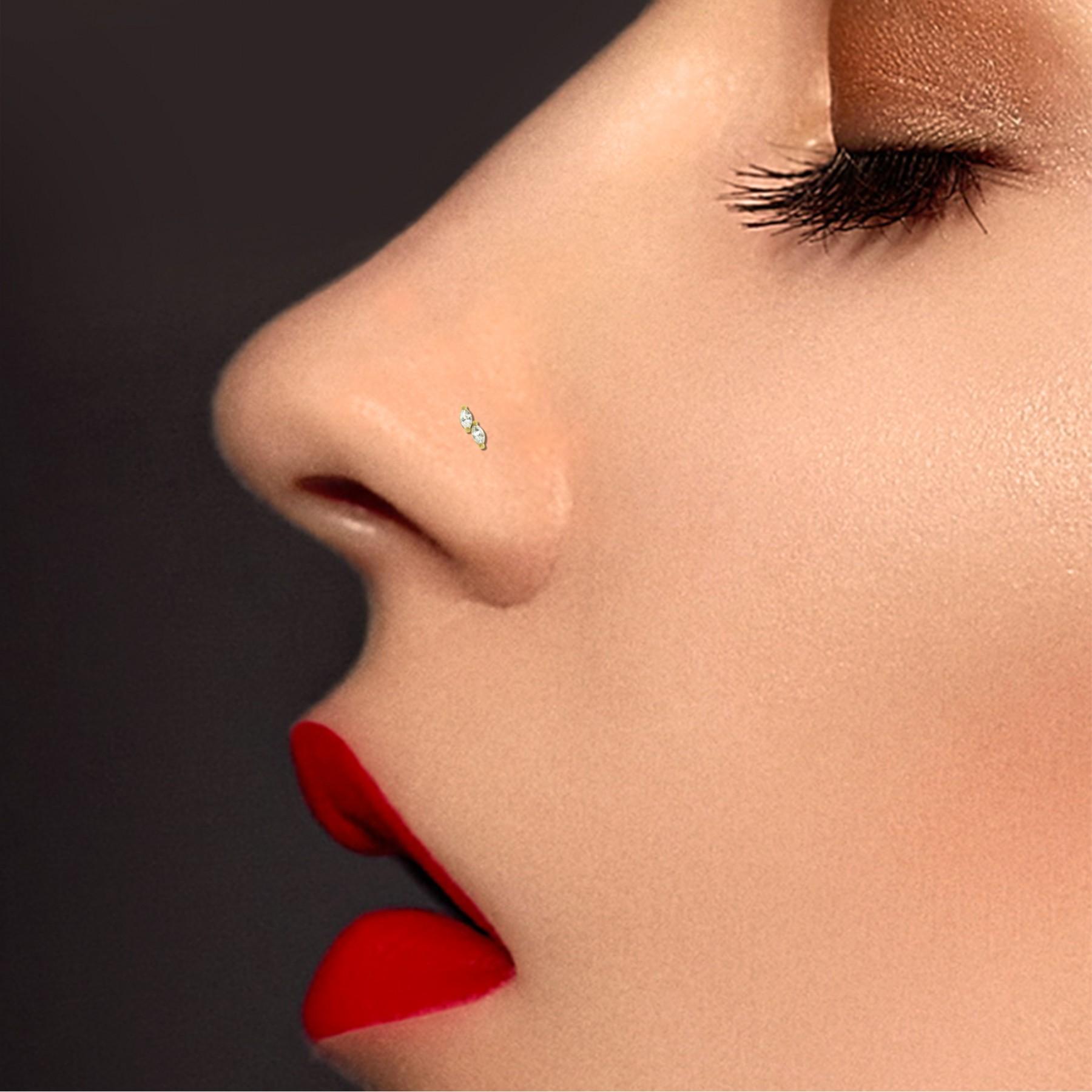piercing or nez