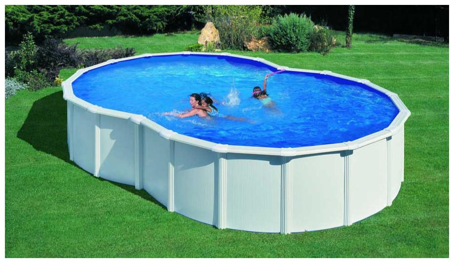 piscine en 8 hors sol
