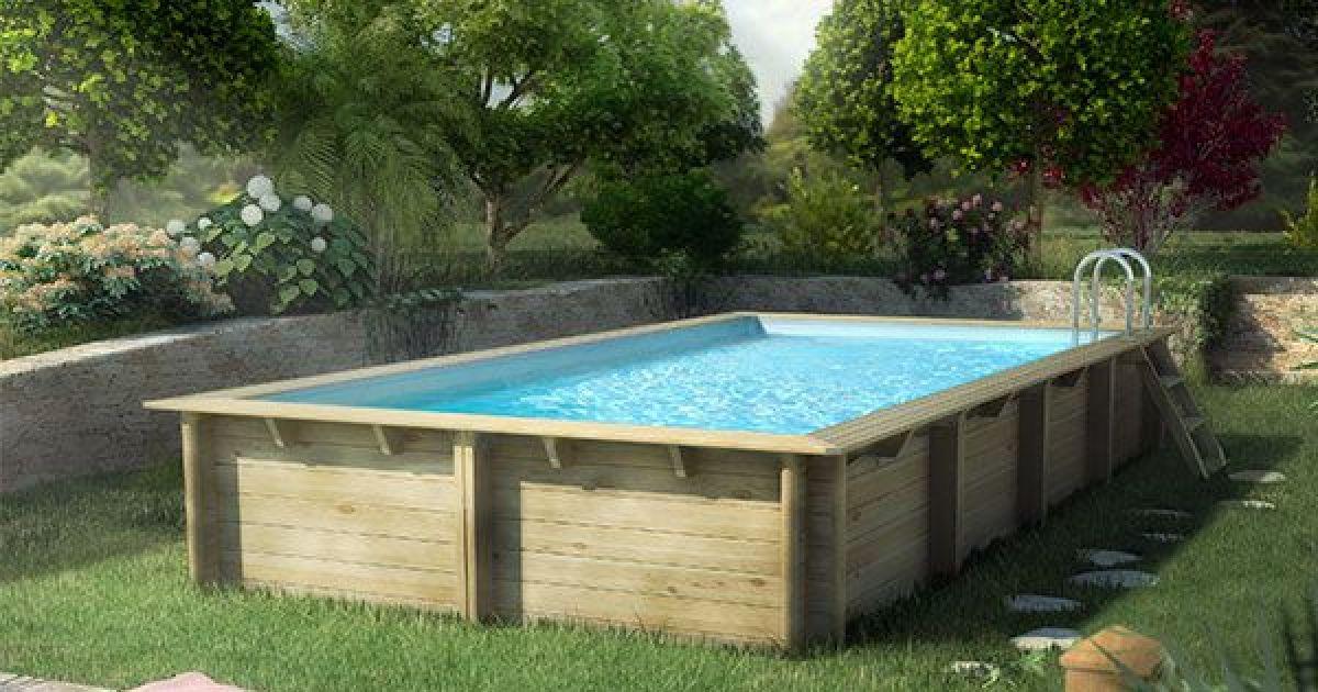 piscine en bois occasion