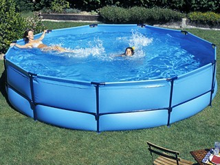 piscine hors sol gonflable pas cher