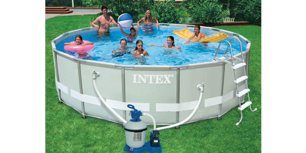 piscine hors sol ronde intex