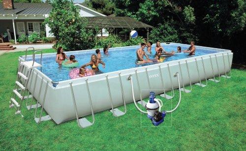 piscine intex hors sol rectangulaire