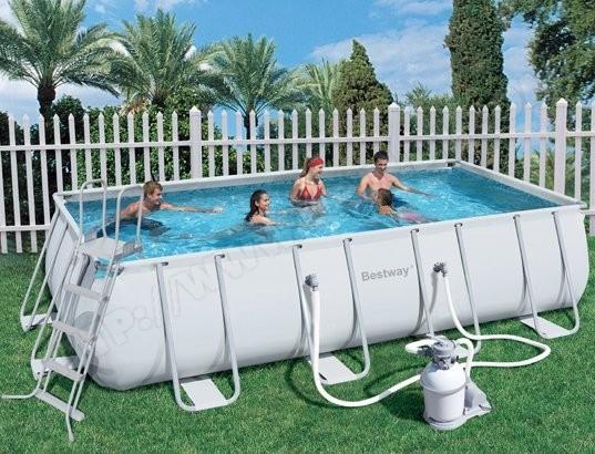 piscine rectangulaire tubulaire pas cher
