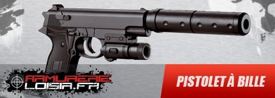 pistolet a bille automatique pas cher