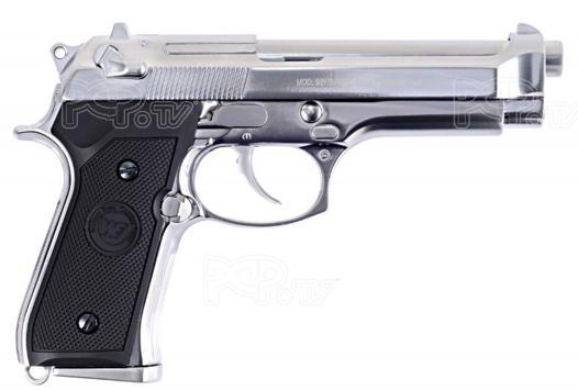 pistolet a bille en metal a gaz