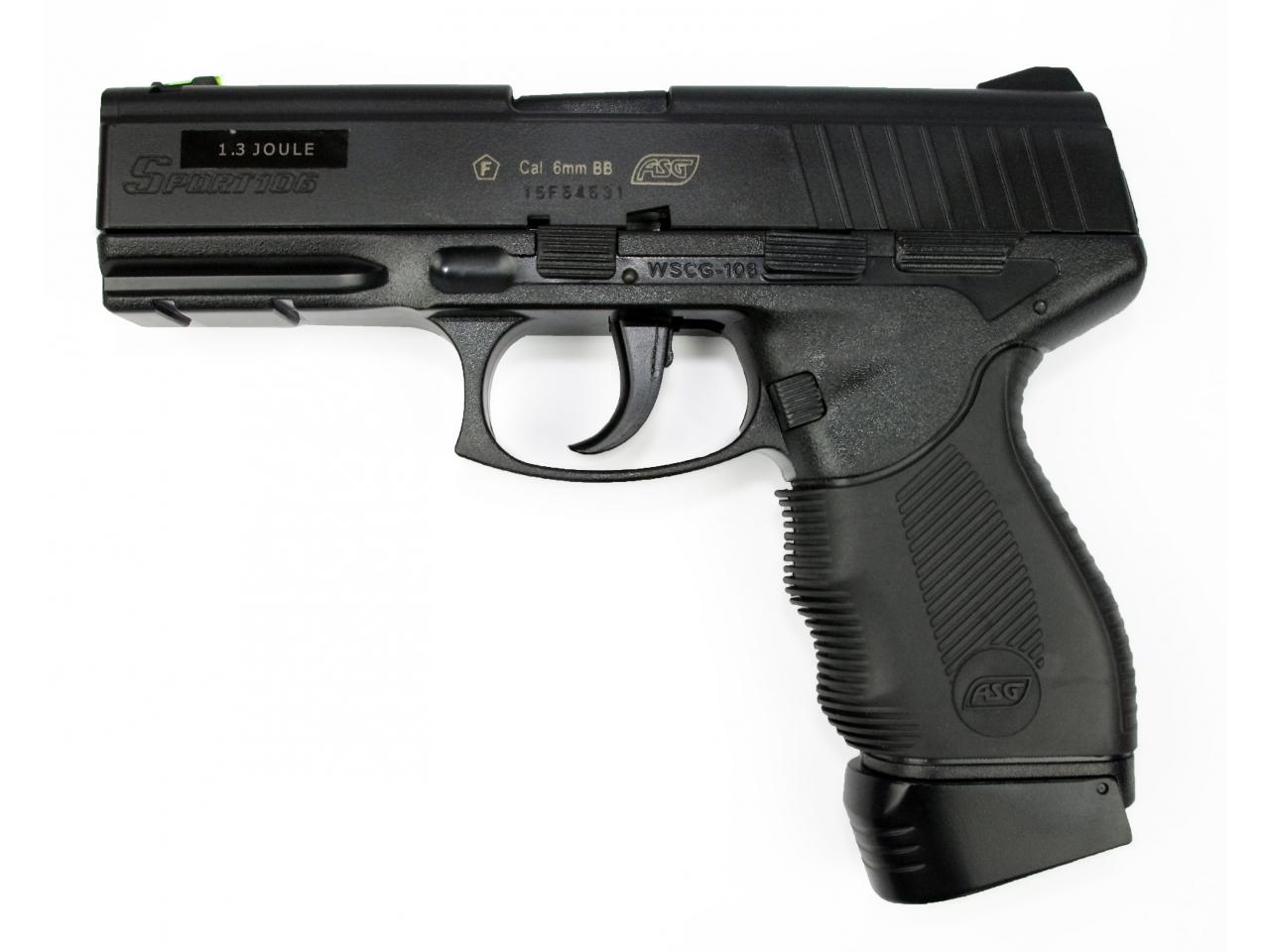 pistolet a gaz puissant