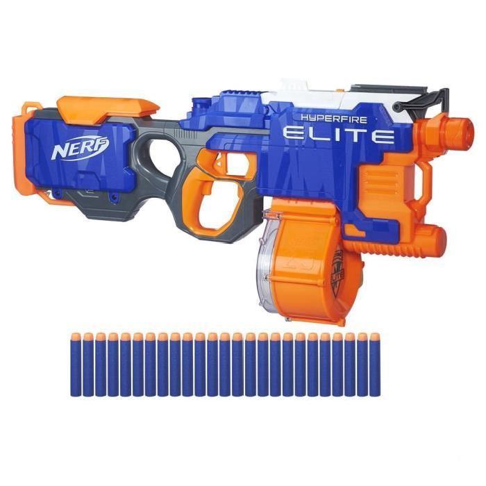 pistolet hyperfire nerf elite