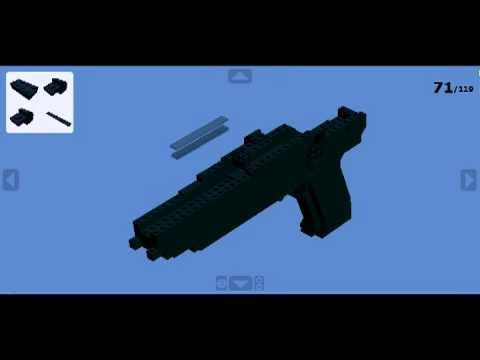 pistolet lego instruction