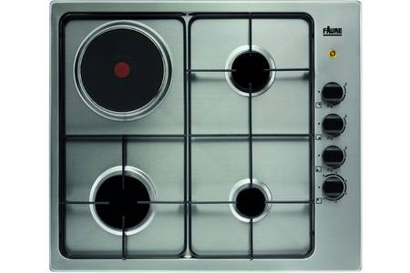 plaque de cuisson mixte inox