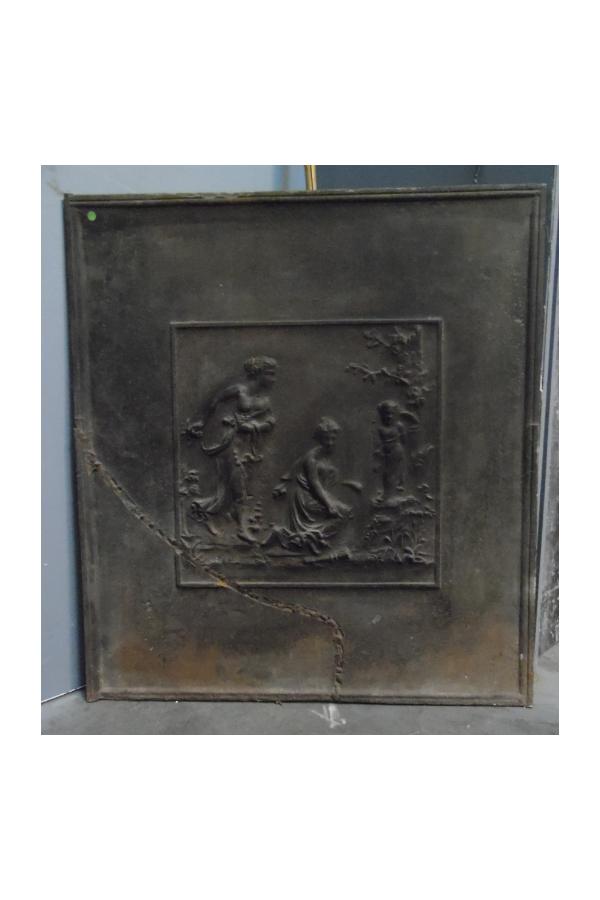 plaque fonte
