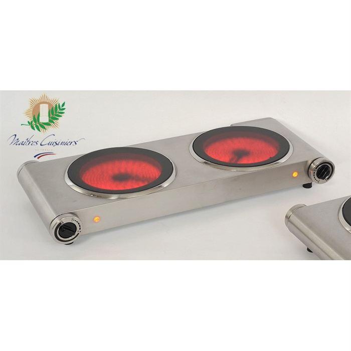 plaque vitroceramique 2 feux posable