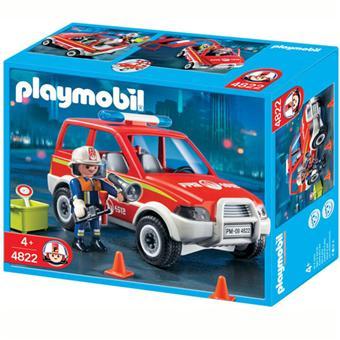 playmobil pompier