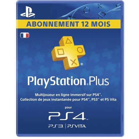 playstation plus 1 an pas cher