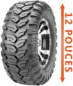 pneu quad 12 pouces