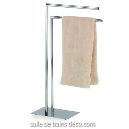 porte serviette inox sur pied