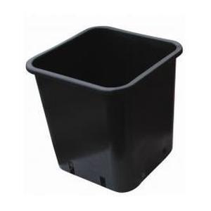 pot plastique carré