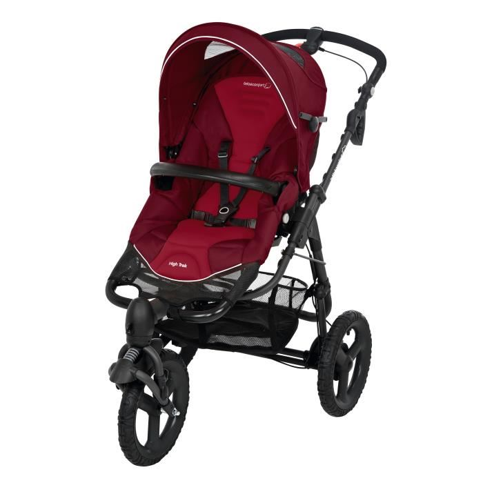 poussette 3 roues bébé confort