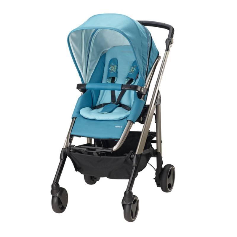 poussette bebe confort bleu