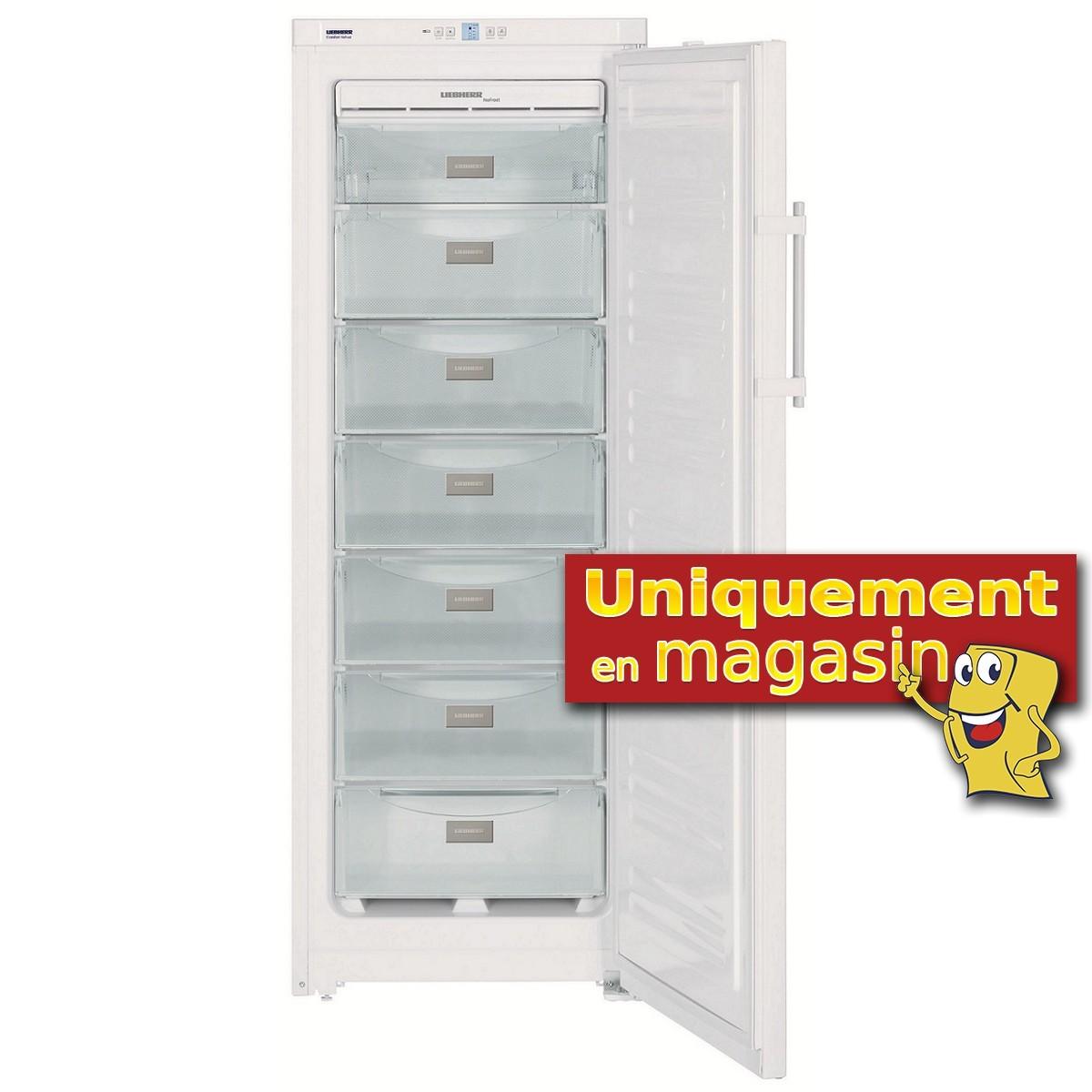 promotion congelateur armoire