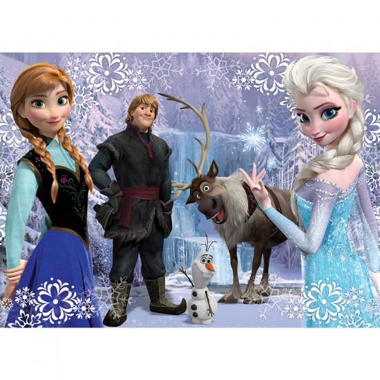 puzzle de la reine des neiges