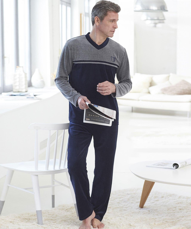 pyjama en velours homme