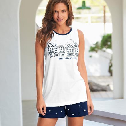 pyjama short femme pas cher