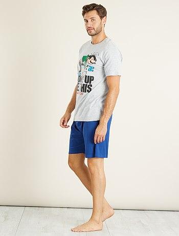 pyjama short homme pas cher