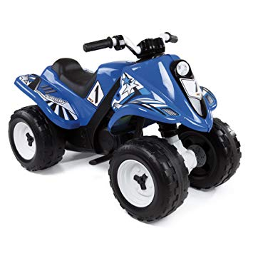 quad smoby bleu